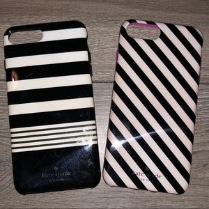 Kate Spade IPhone Plus Lot of 2 phone cases